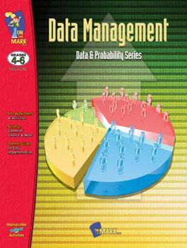 On The Mark Press OTM1121 Data Management Gr. 4-6