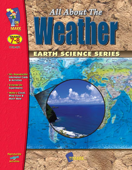 Explore the fascinating science of meteorology with practical information  easily created experiments and activities that cross the curriculum.  Experiments include making a simple thermometer  barometer  wind vane  anemometer  humidity indicator and hygrometer; proving that plants give off vapor and creating a cloud. Students learn to measure different aspects of weather. 45 activities  69 pages.