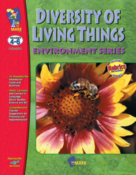 ISBN 9781550356465 product image for On The Mark Press OTM2106 Diversity of Living Things Gr. 4-6 | upcitemdb.com