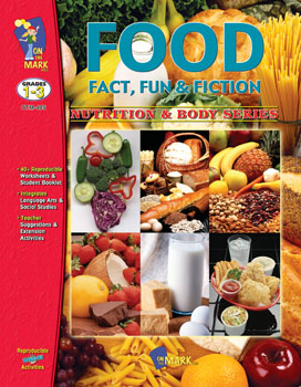 Students will recognize the food groups  understand their nutritional requirements  identify careers associated with food production and demonstrate an awareness of the global nature of our food resources. Creative activities include designing a cookbook  creating a new bubble gum  designing a cereal box and much more.  Cross curricular actives in language  math  research  art and brainstorming complete this resource with an answer key.  44 activities  96 pages.