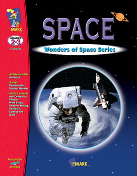 Blast off into outer space with your students and explore its many mysteries. An introductory poem about space gets you started. Follow through with the activities on Astronauts and their equipment  the moon  stars  sun and the planets. Then touch down with the 10-page reproducible student booklet  complete with answer key. 36 activities  46 pages.