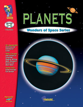 Maximize your teaching effectiveness with more than 90 integrated reproducible activities and information cards that reinforce learned skills. Topics include: What is a planet-   Physical Characteristics  Atmosphere and Movements of each Planet  How Planets are Created and more.  90 activities  98 pages. Companion Product: The Solar System  OTM-2122.
