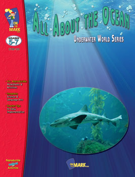 <li>Learn about ocean animals  plants  tides  coral  sea travel  volcanic islands  Atlantis - The Lost City! and whales.<li>All of these topics have information cards with follow-up exercises.<li>Word Study Skills  Math  Art and 44 Creative Activities are also included.<li>82 Pages.