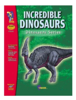 Curiosity and imagination can be stimulated easily with the study of dinosaurs. Some areas covered are: hand-eye coordination  word patterning and recognition  number concepts  association and classification. Increase parent involvement with the Dinosaur newsletter  informing parents about the topic and requesting their help by accompanying their child to the library to choose a book or taking a trip to a museum. 39 activities  84 pages. Companion Product: Dinosaur Picture Collection  OTM-1621.