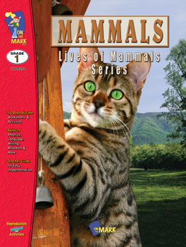 Familiarize your students with the various mammals that inhabit our world. Make your students aware of the habitats  food  homes  enemies and habits of wild mammals. Learn that wild mammals can be domesticated and about the protection and conservation of mammals. Your students will recognize basic similarities between people and mammals  learn how mammals may be born live or hatched from an egg. Contains teacher information  lists of vocabulary  mammal families chart and classification of mammals chart  plus answer keys. 45 activities  112 pages.