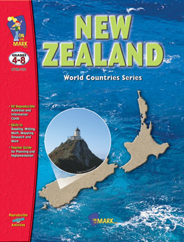 On The Mark Press OTM110 New Zealand Gr. 4-8