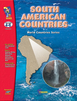 On The Mark Press OTM111 South American Countries Gr. 4-6