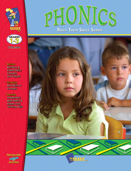 On The Mark Press OTM2506 Phonics Workbook Gr. 1-3
