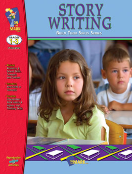 On The Mark Press OTM2509 Story Writing Workbook Gr. 1-3