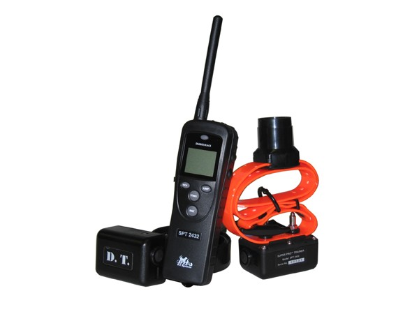 DT Systems SPT-2432 2-Dog 1.3 M Remote Trainer With Beep