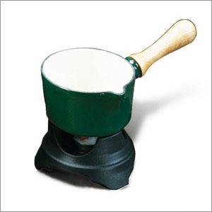 World Cuisine A1711014 .5 Qt Blue Black Butter Warmer WDC4599