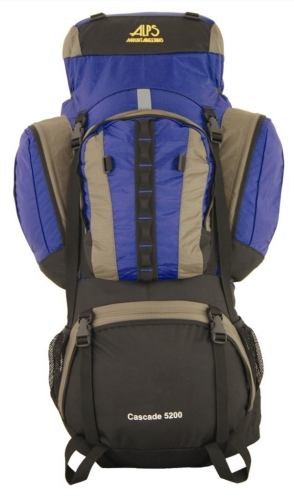 Alps Mountaineering 2525302 Cascade 5200 Internal pack- Blue