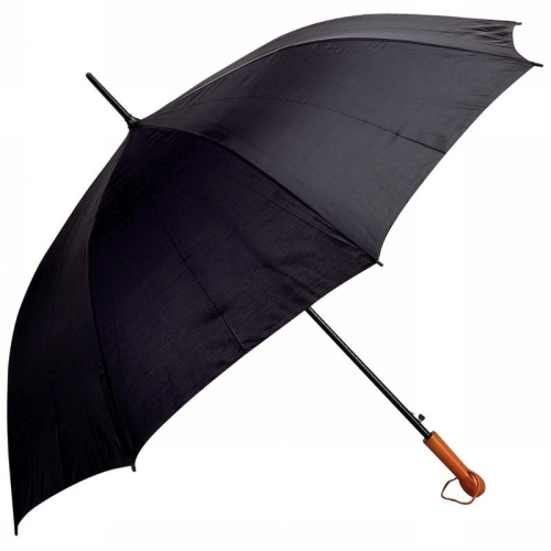 "All-Weather Elite Series 60"" Auto-Open Golf Umbrella- Black BFGFUMP60BLKLT"