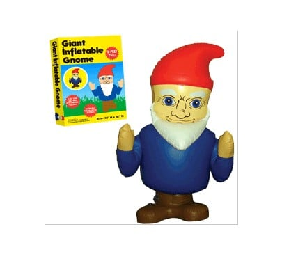 Inflatable Gnome Garden Gnomes For