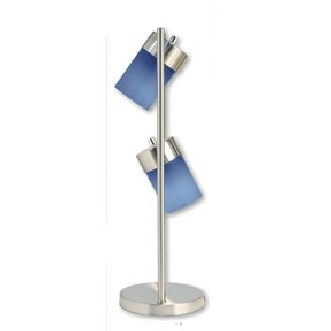 00ore3031tb 2-light Adjustable Table Lamp - Blue