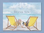 Hortense B. Hewitt 23564 Seaside Jewels Thank You Cards