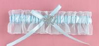Hortense B. Hewitt 30307 Blue Crystal All My Heart Garter