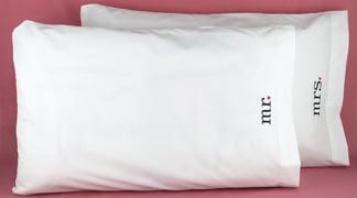 Hortense B. Hewitt 38915 Together Mr & Mrs Pillowcases