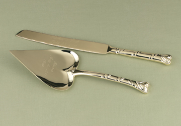 Hortense B. Hewitt 51815 Gold Heart Serving Set