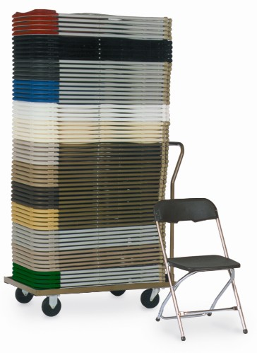 McCourt 01800 Series 5 Stackable Folding Chair Dolly