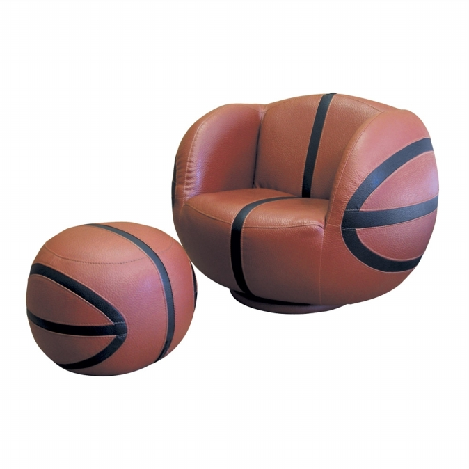 Ore International R2016 Basketball Chair with Ottoman set