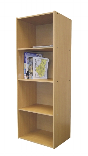 Ore International JW-189 4-Level Bookshelf