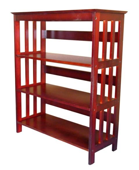 Ore International R5416 CH 36   3-Tier Bookcase - Cherry