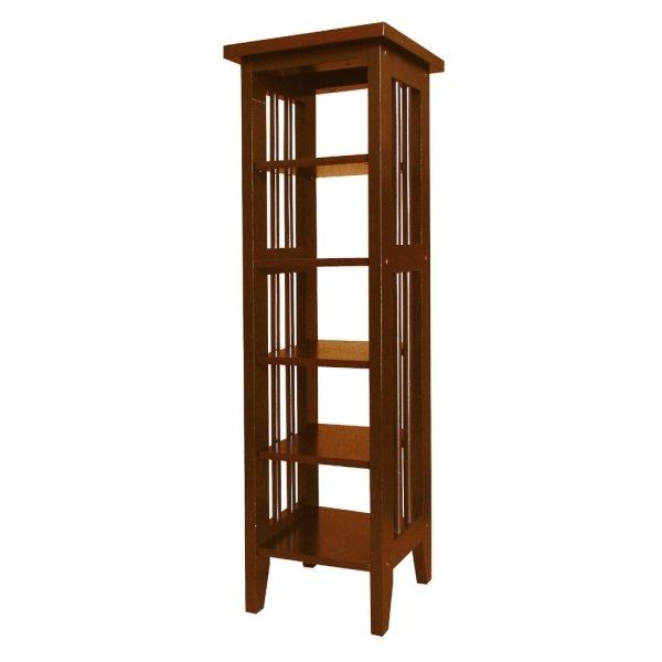Ore International R5418 CH Media Storage Tower - Cherry