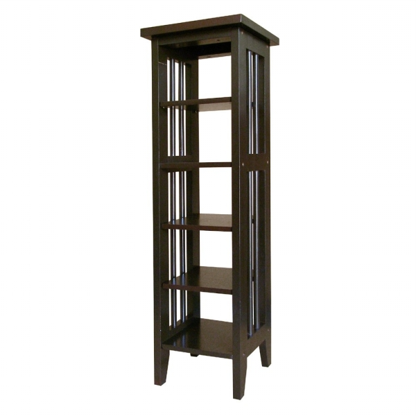 Ore International R5418 ES Media Storage Tower - Espresso