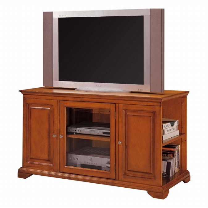 Ore International C4813OAK Harris Entertainment Console - Oak