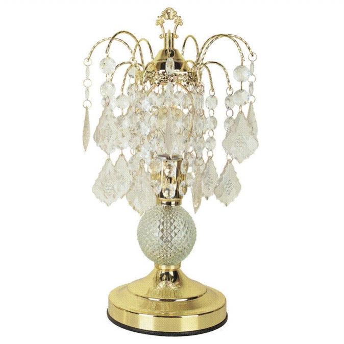 Welcome Ihome Inc, 3056 Glass Touch Accent Lamp - Gold at Sears.com
