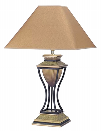 Ore International 8008 Home Deco Table Lamp - Antique Bronze -32