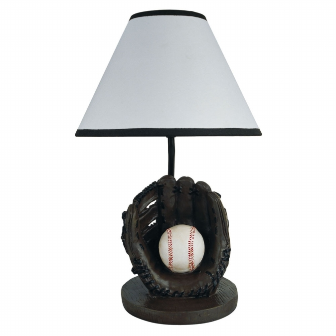 Ore International 31604BB Baseball Accent Lamp