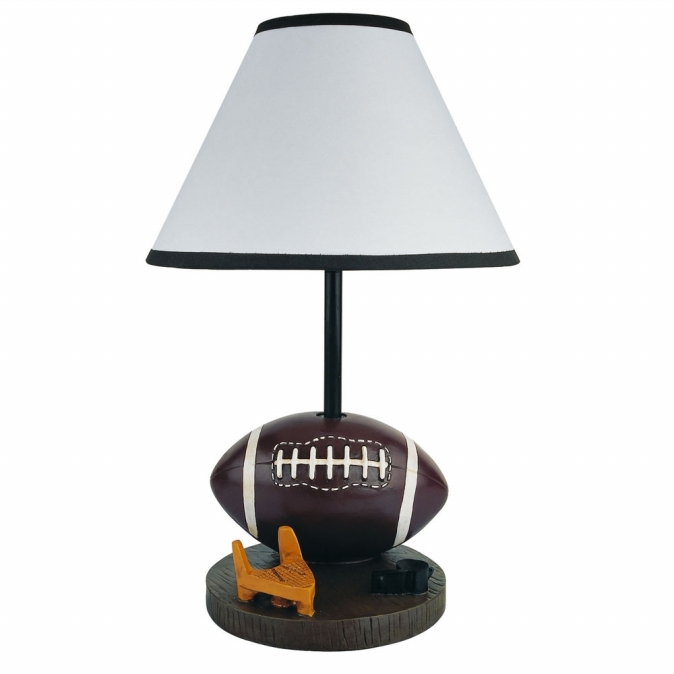 Ore International 31604FT Football Accent Lamp