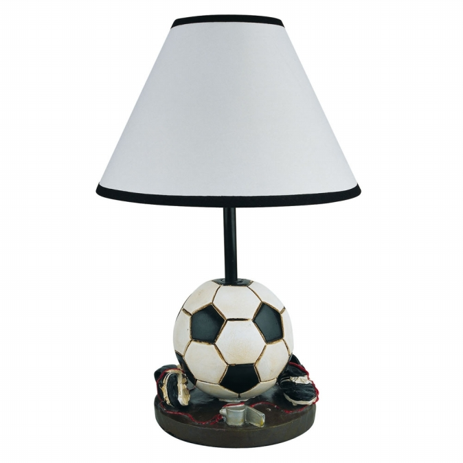 Ore International 31604SC Soccer Accent Lamp