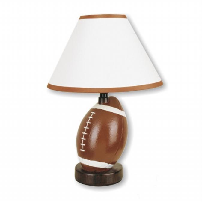 Ore International 604FT-N Ceramic Football Table Lamp