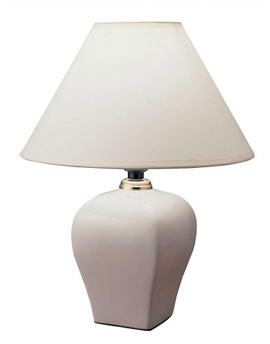 Ceramic Table Lamp - Ivory