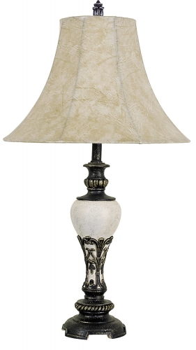 Ore International 8032B 30   Home D?cor Table Lamp - Ivory