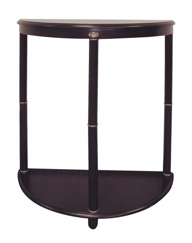 Ore International H-14A Crescent End Table - Cherry -26