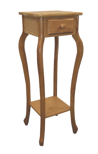 Ore International H-39 OAK Oak Plant Stand