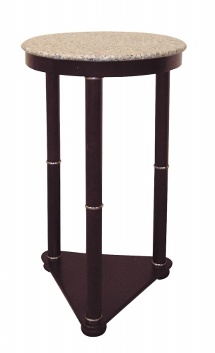 Ore International H-5 Round End Table - Cherry
