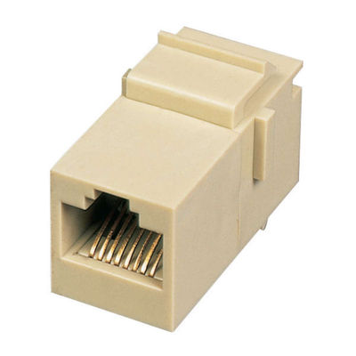 Cables To Go 03674 Rj45 8P8C Keystone Modular Insert Coupler - Ivory