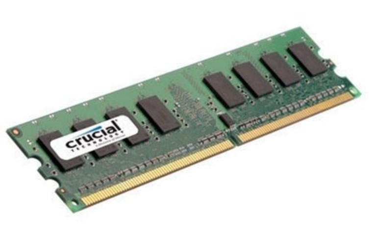 Crucial Technology CT25664AA800 2GB DDR2 PC2-6400 240-pin DIMM