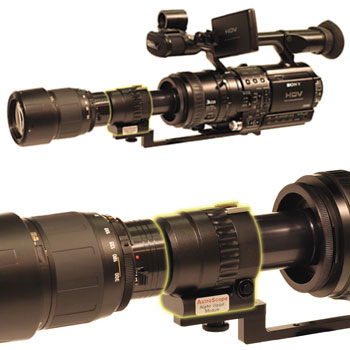 Morovision MVPA-914745G Astroscope 9350BRAC-PD-3PRO-PINNACLE Night Vision Adapter for Sony DSR-PD150-PD170-VX2100 Camcorders. Gen 3 PINNACLE
