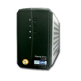 Opti Ups GS1100B 1100VA Tower UPS - 1100VA 550W - 40 Minute(s) Full-load - 3 x NEMA 5-15R - Battery Backup System  3 x NEMA 5-15R - Surge-protected