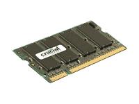 Crucial 2GB DDR2 SDRAM Memory Module - 2GB - 667MHz DDR2-667/PC2-5300 - Non-ECC - DDR2 SDRAM - 200-pin SoDIMM