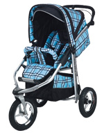 Baby Bling Design Company BBP3333P Metamorphosis All Terrain Jogging Stroller in Papillion Blue
