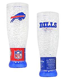 Buffalo Bills Crystal Pilsner Glass