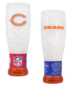 Chicago Bears Crystal Pilsner Glass