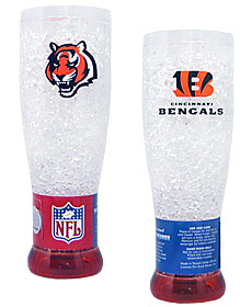 Cincinnati Bengals Crystal Pilsner Glass